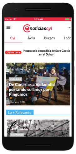 NoticiasCyl Android